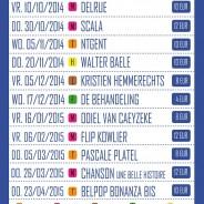 Cultuurdienst Kuurne (BE) werkt met ticketing van LVP